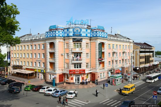 Architecture of Barnaul city, Russia, photo 16
