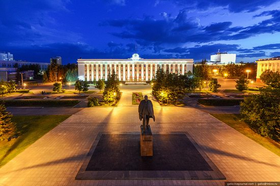 Architecture of Barnaul city, Russia, photo 17