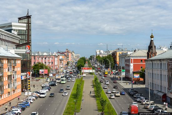 Architecture of Barnaul city, Russia, photo 18