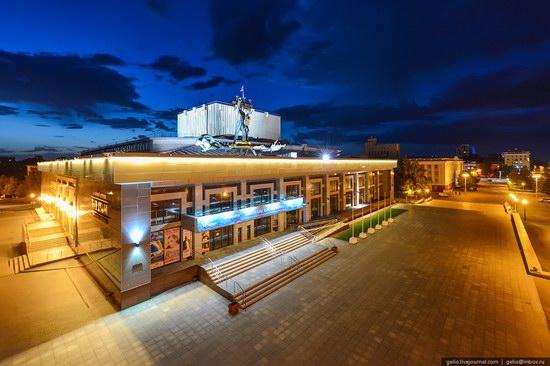 Architecture of Barnaul city, Russia, photo 19