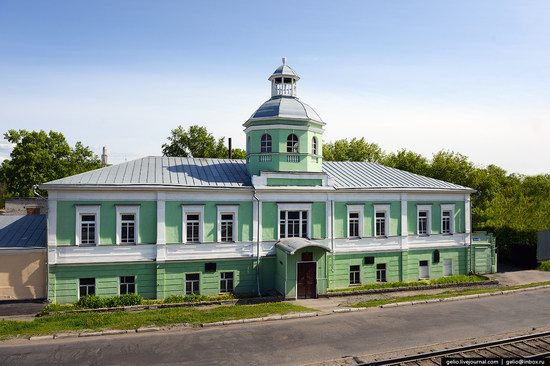 Architecture of Barnaul city, Russia, photo 2