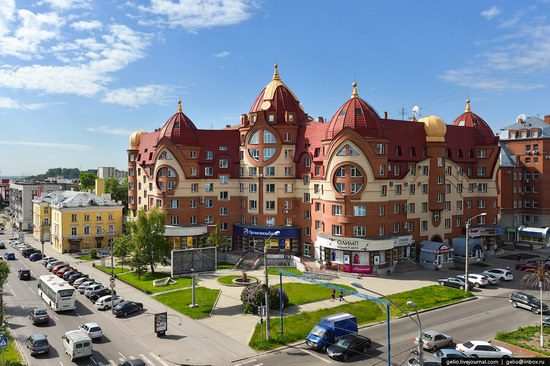 Architecture of Barnaul city, Russia, photo 20