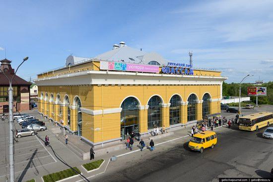 Architecture of Barnaul city, Russia, photo 21