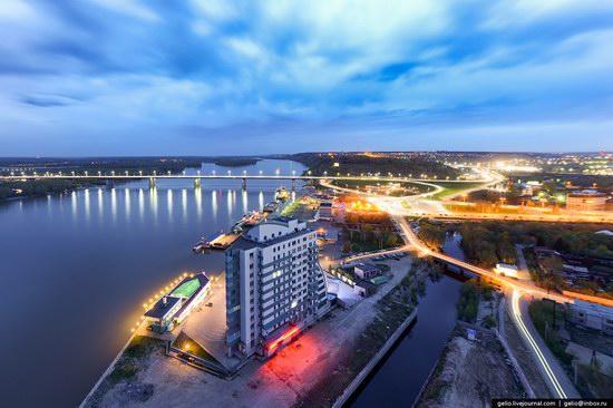 Architecture of Barnaul city, Russia, photo 22