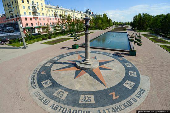 Architecture of Barnaul city, Russia, photo 23