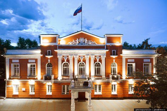 Architecture of Barnaul city, Russia, photo 3