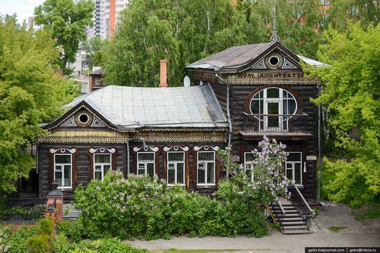 Architecture of Barnaul city, Russia, photo 5