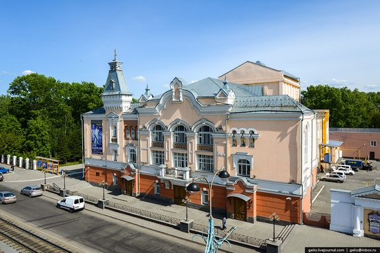 Architecture of Barnaul city, Russia, photo 6