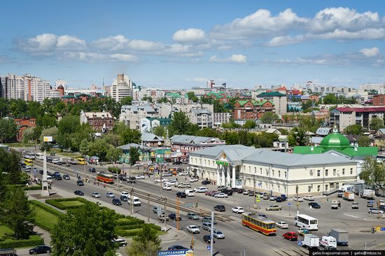 Architecture of Barnaul city, Russia, photo 7