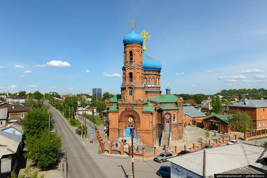 Architecture of Barnaul city, Russia, photo 8