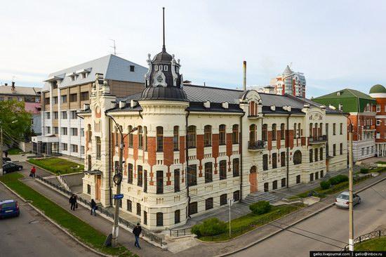 Architecture of Barnaul city, Russia, photo 9
