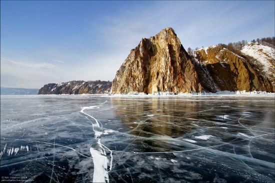 Frozen Baikal Lake, Russia, photo 1