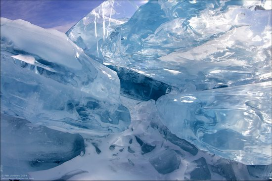 Frozen Baikal Lake, Russia, photo 4