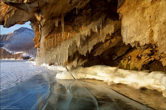 Frozen Baikal Lake, Russia, photo 5