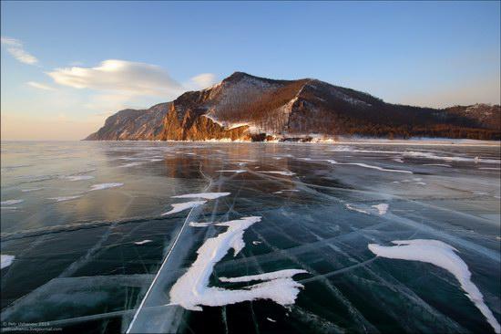 Frozen Baikal Lake, Russia, photo 6