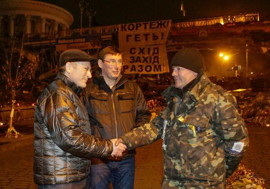 Mikhail Khodorkovsky on the Maidan, Kyiv, Ukraine, photo 3