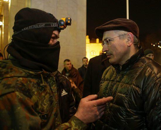 Mikhail Khodorkovsky on the Maidan, Kyiv, Ukraine, photo 4
