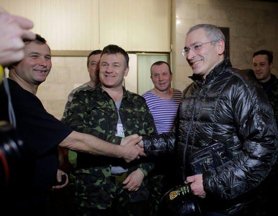 Mikhail Khodorkovsky on the Maidan, Kyiv, Ukraine, photo 5