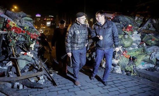 Mikhail Khodorkovsky on the Maidan, Kyiv, Ukraine, photo 6