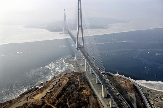 Russky Bridge, Vladivostok, Russia, photo 1