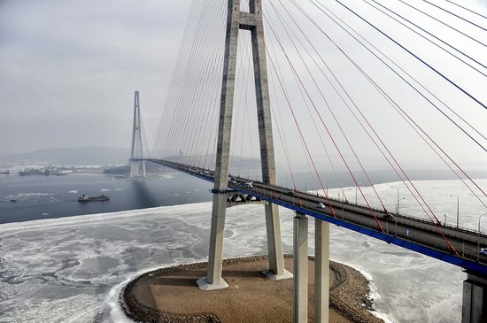 Russky Bridge, Vladivostok, Russia, photo 10