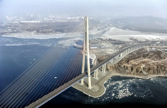 Russky Bridge, Vladivostok, Russia, photo 2
