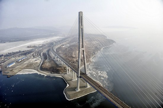 Russky Bridge, Vladivostok, Russia, photo 3
