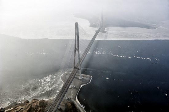 Russky Bridge, Vladivostok, Russia, photo 4