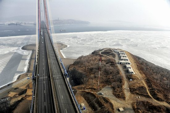 Russky Bridge, Vladivostok, Russia, photo 9