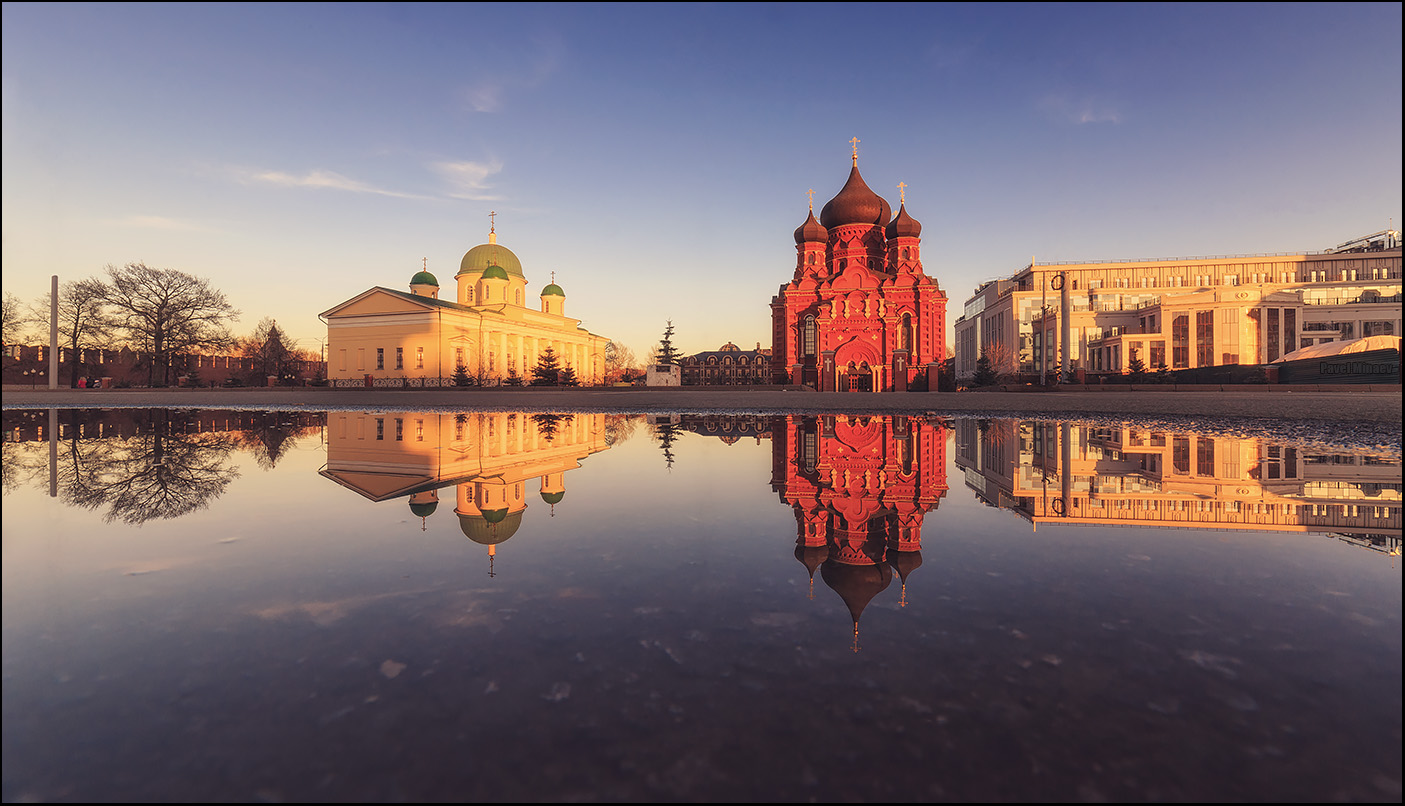 Tula is a historic Russian city first mentioned in 1146. It is located