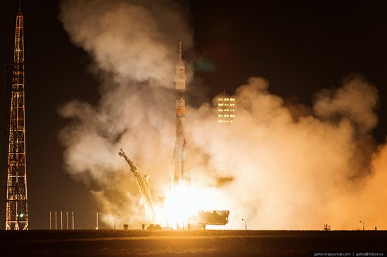 The launch of the 39th expedition to the ISS, Baikonur, photo 1
