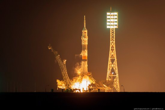 The launch of the 39th expedition to the ISS, Baikonur, photo 14