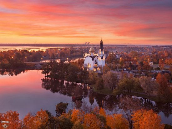 Peter and Paul Church in Sestroretsk, Russia