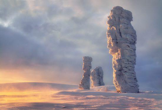 The Weathering Pillars, Komi Republic, Russia, photo 1