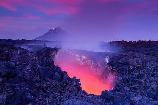 Window to hell, Kamchatka, Russia