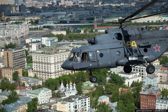 Flying over Moscow - Victory Day parade rehearsal, photo 12