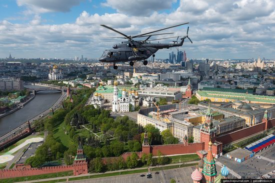 Flying over Moscow - Victory Day parade rehearsal, photo 2