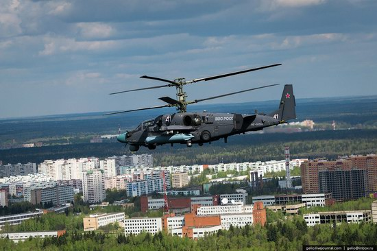 Flying over Moscow - Victory Day parade rehearsal, photo 22