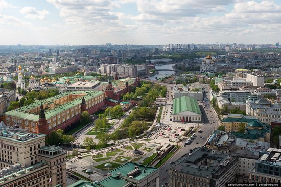 Flying over Moscow - Victory Day parade rehearsal, photo 4