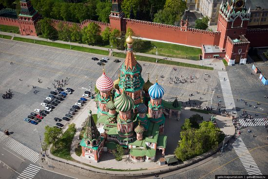 Flying over Moscow - Victory Day parade rehearsal, photo 5