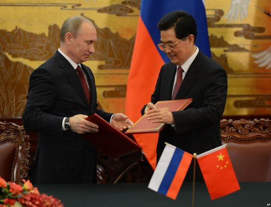 Russia-China natural gas