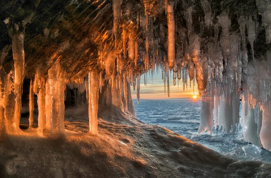Winter Baikal Lake, Russia, photo 1