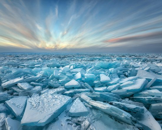 Winter Baikal Lake, Russia, photo 10