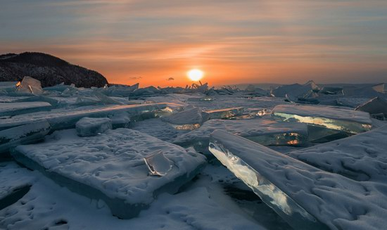 Winter Baikal Lake, Russia, photo 11