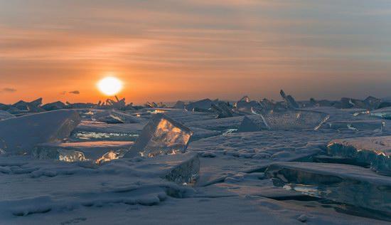 Winter Baikal Lake, Russia, photo 12
