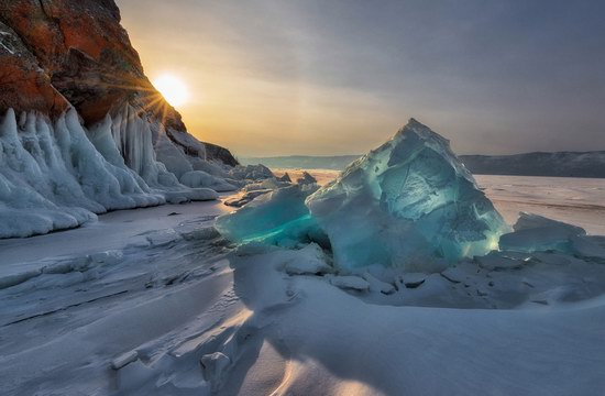 Winter Baikal Lake, Russia, photo 15