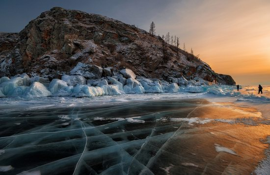 Winter Baikal Lake, Russia, photo 17