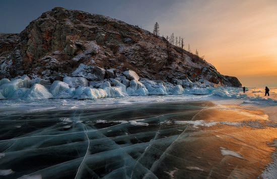 Winter Baikal Lake, Russia, photo 17