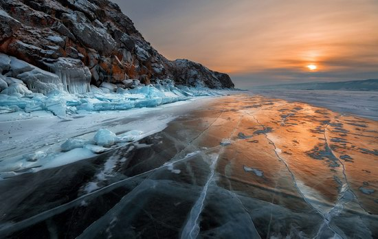 Winter Baikal Lake, Russia, photo 18
