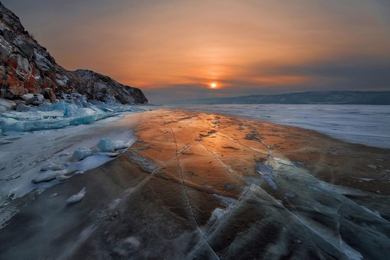 Winter Baikal Lake, Russia, photo 19